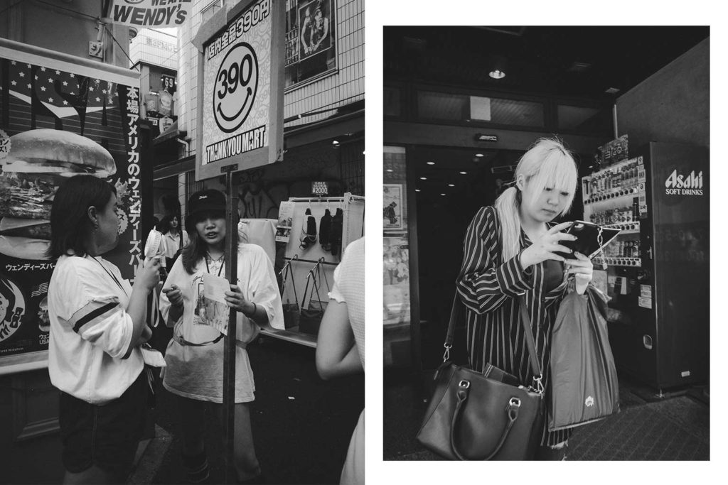 William Sudhana Tokyo Street Photography Girls are Waiting and Queueing