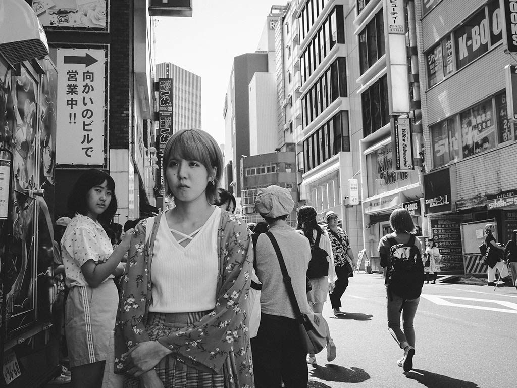 William Sudhana Tokyo Street Photography Woman feeling sad