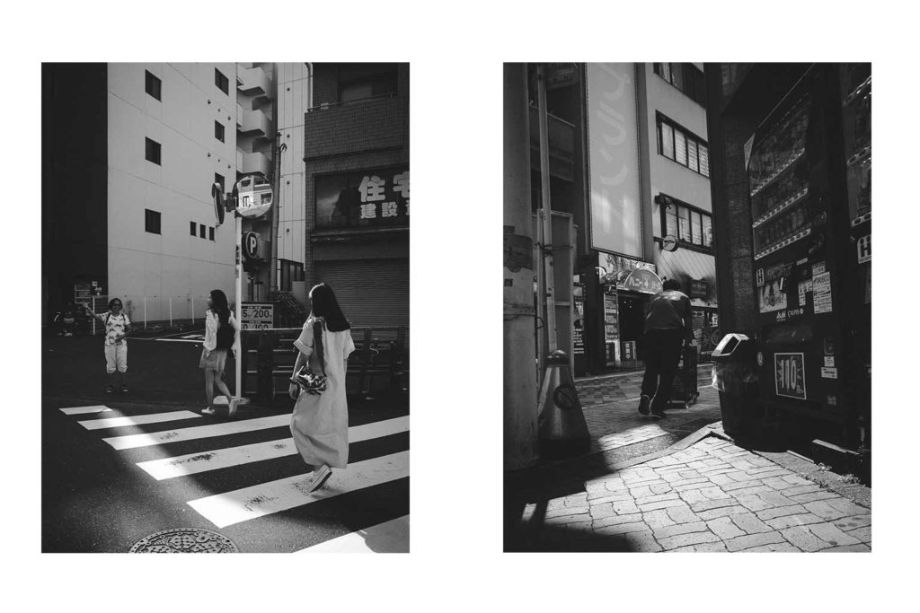 William Sudhana Tokyo Street Photography Crossing the Street Shadow