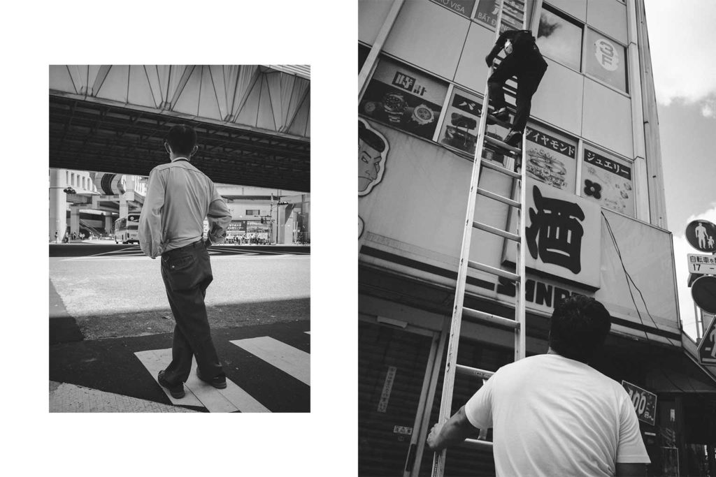 William Sudhana Tokyo Street Photography People Climbing